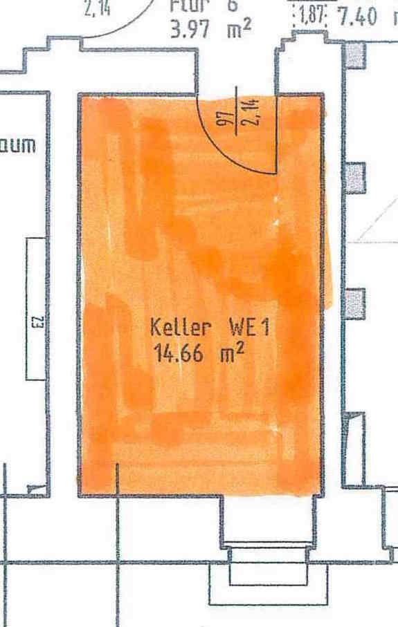 Plan_Kellerraum 14,6qm